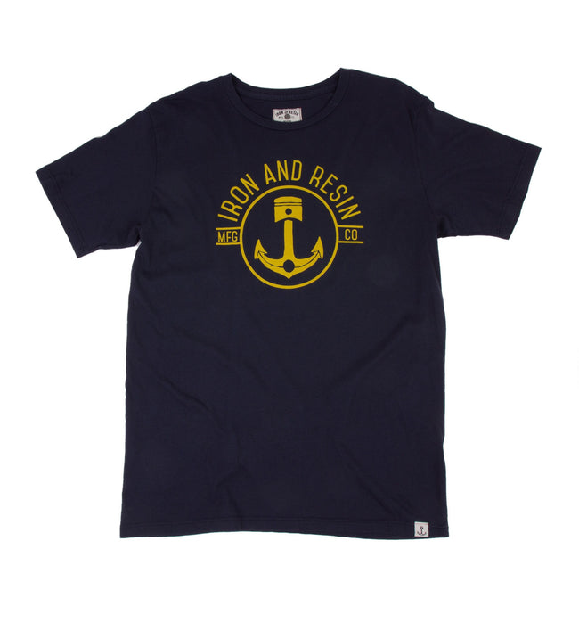 Skipper Tee - Apparel: Men's: Graphic T-Shirts - Iron and Resin
