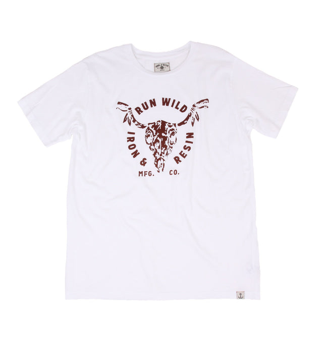 Run Wild Tee - Apparel: Men's: Graphic T-Shirts - Iron and Resin