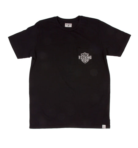 Lets Effin Ride Tee - Apparel: Men's: Graphic T-Shirts - Iron and Resin