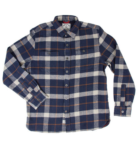 Nevada Flannel Shirt - Tops - Iron and Resin