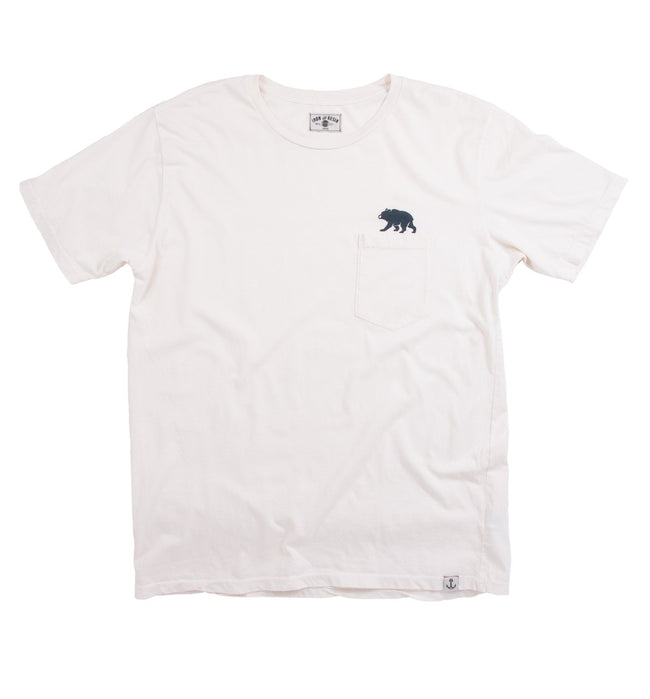 Bear Pocket Tee - Tops - Iron and Resin