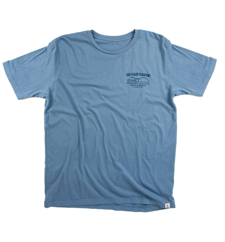 No Bad Waves Tee - Tops - Iron and Resin