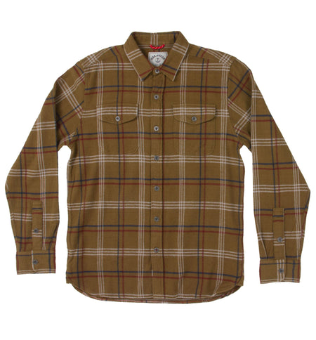 Meridian Flannel Shirt - Tops - Iron and Resin