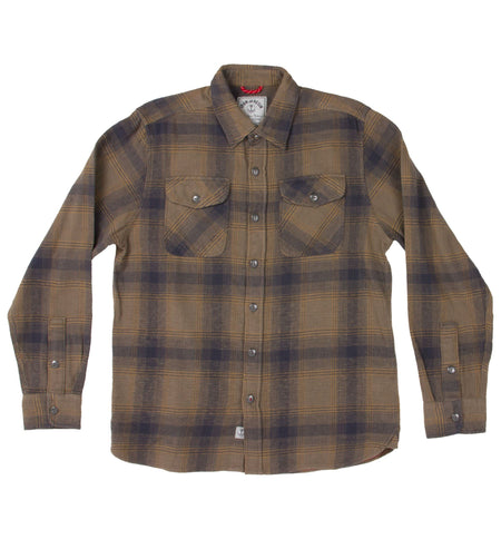 Rockland Flannel Shirt - Tops - Iron and Resin