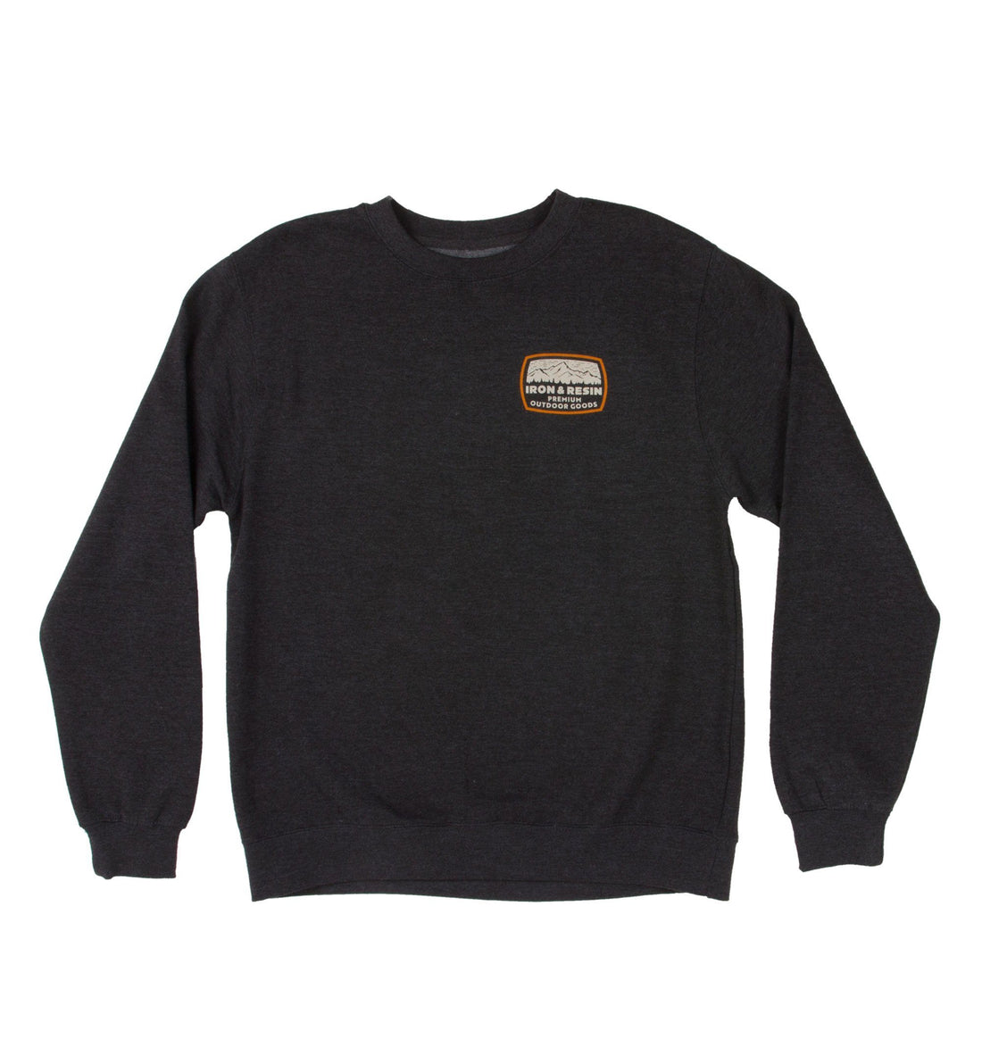 Alpine Printed Crew Fleece - Tops - Iron and Resin