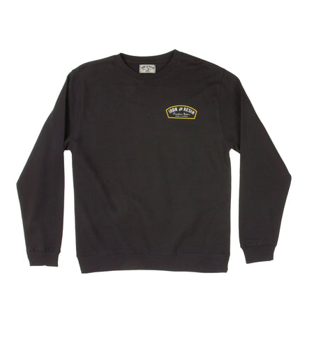 Region Printed Crew Fleece - Tops - Iron and Resin