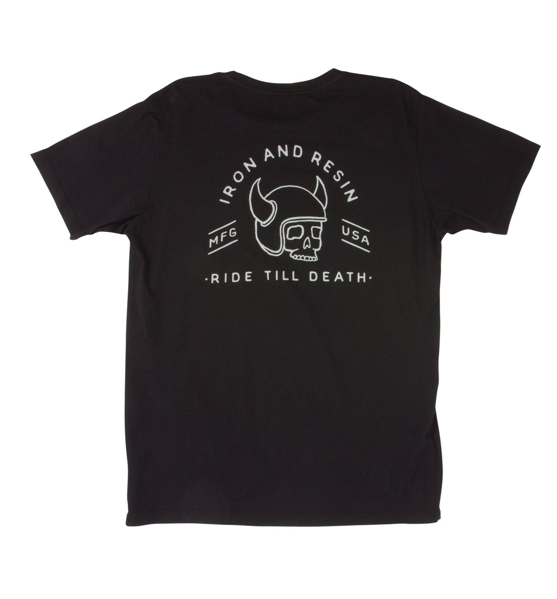 Ride Till Tee - Tops - Iron and Resin