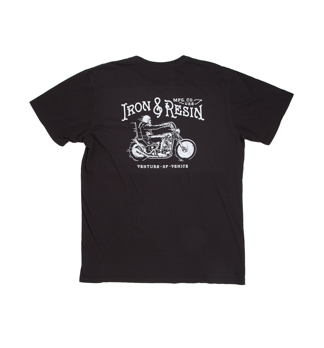 Midnight Rider Pocket Tee - Tops - Iron and Resin