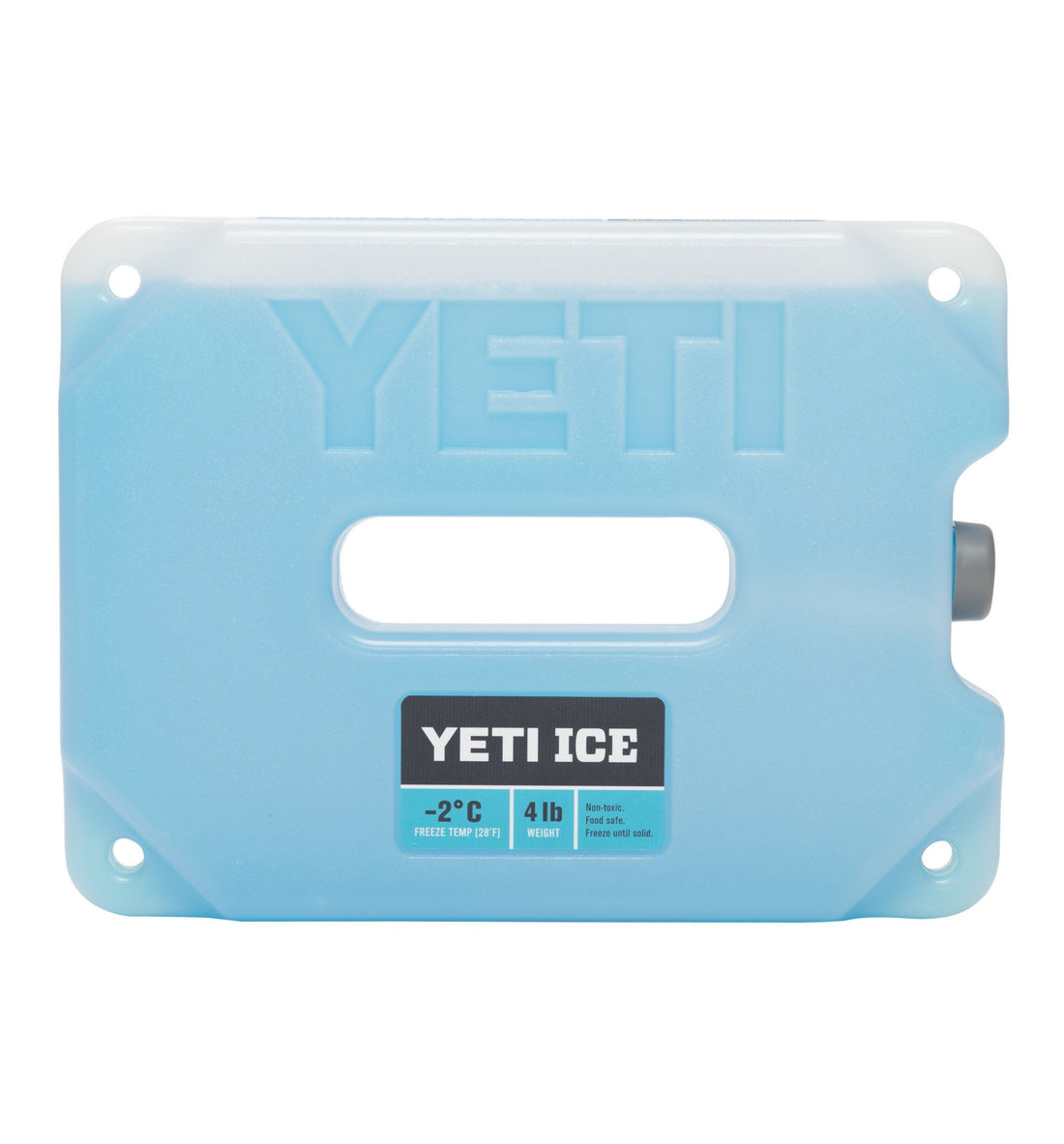 Yeti Ice, 4 lb 2C - Outdoor Living/Travel - Iron and Resin