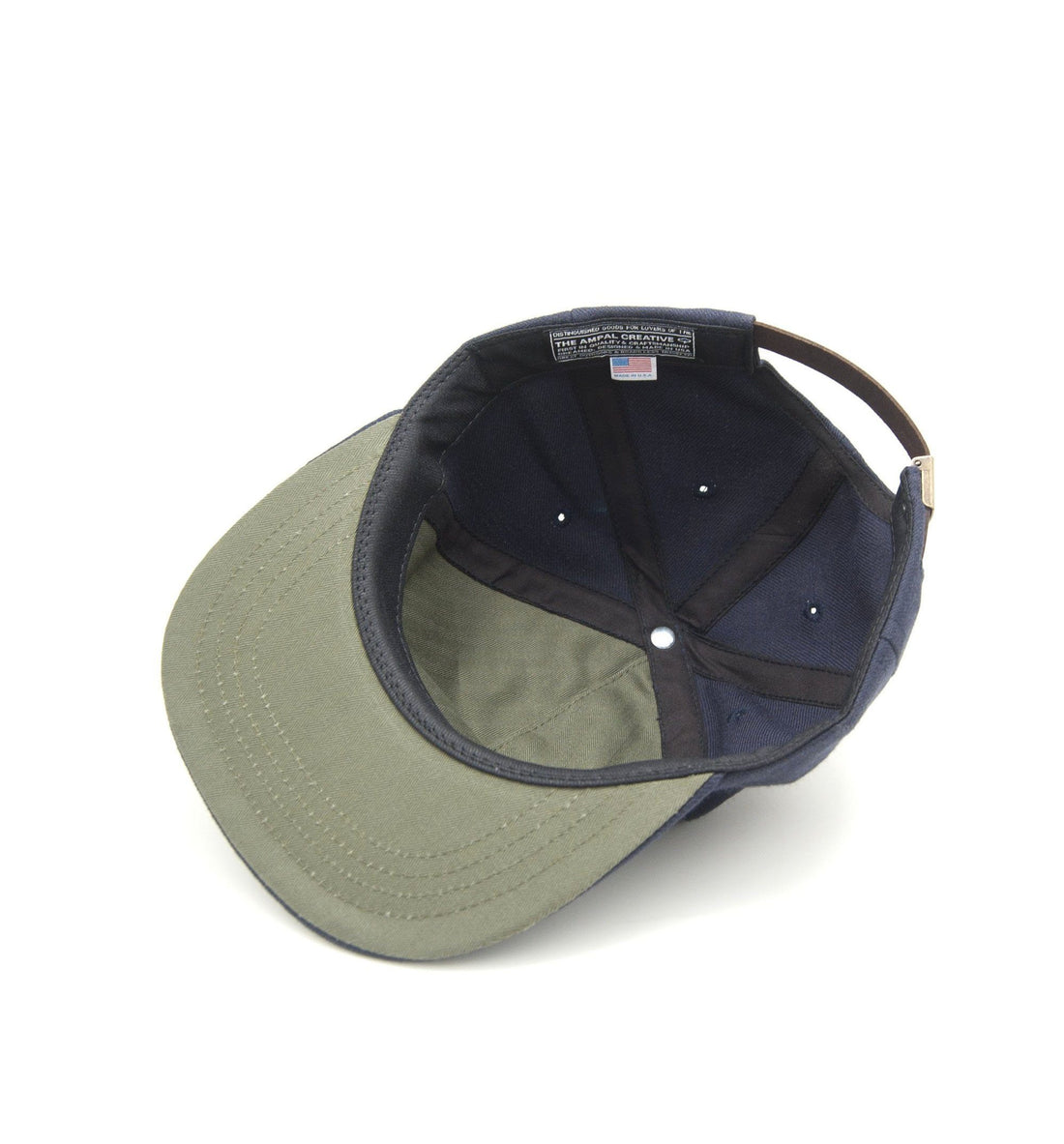 The Ampal Creative In the Dirt Strapback - Navy - Headwear - Iron and Resin
