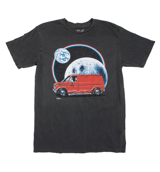 Midnight Rider Intergalactic Van Tee - Apparel: Men's: Graphic T-Shirts - Iron and Resin