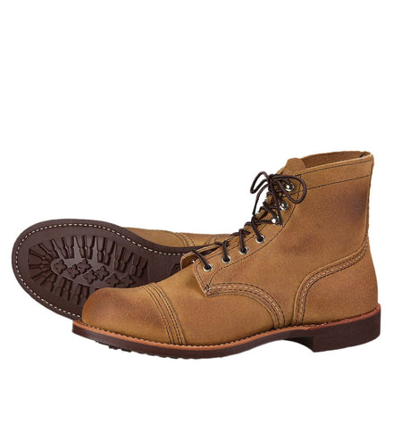 Red Wing Iron Ranger - Shoes: Men's - Iron and Resin