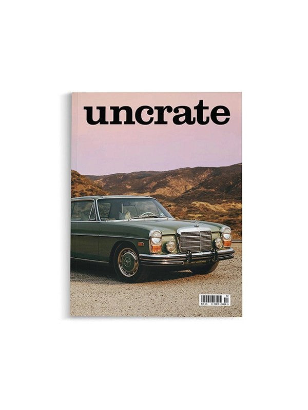 Uncrate Issue 02 - Accessories: Magazines - Iron and Resin