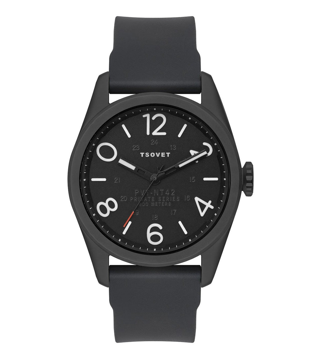 Tsovet JPT-NT42 - Black - Watches - Iron and Resin