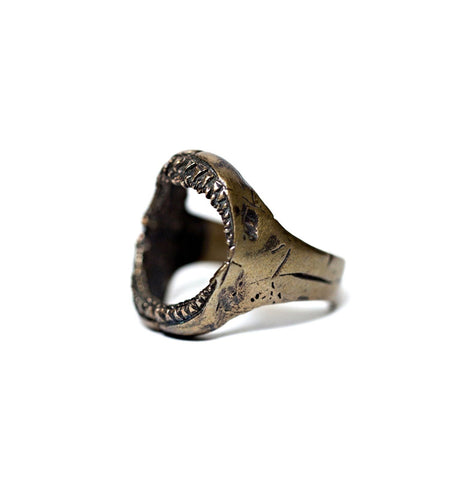 Hoffman Supply Co. Jaws Ring - Jewelry - Iron and Resin
