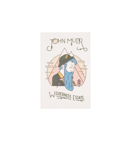 John Muir Wilderness Essays - Home Essentials - Iron and Resin