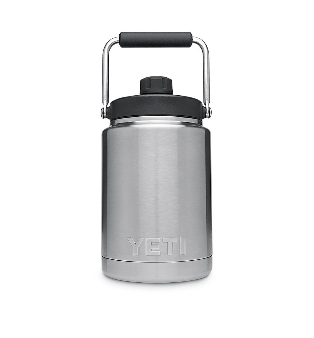 Yeti Rambler Half Gallon Jug - Stainless - Half Gallon - Outdoor Living/Travel - Iron and Resin