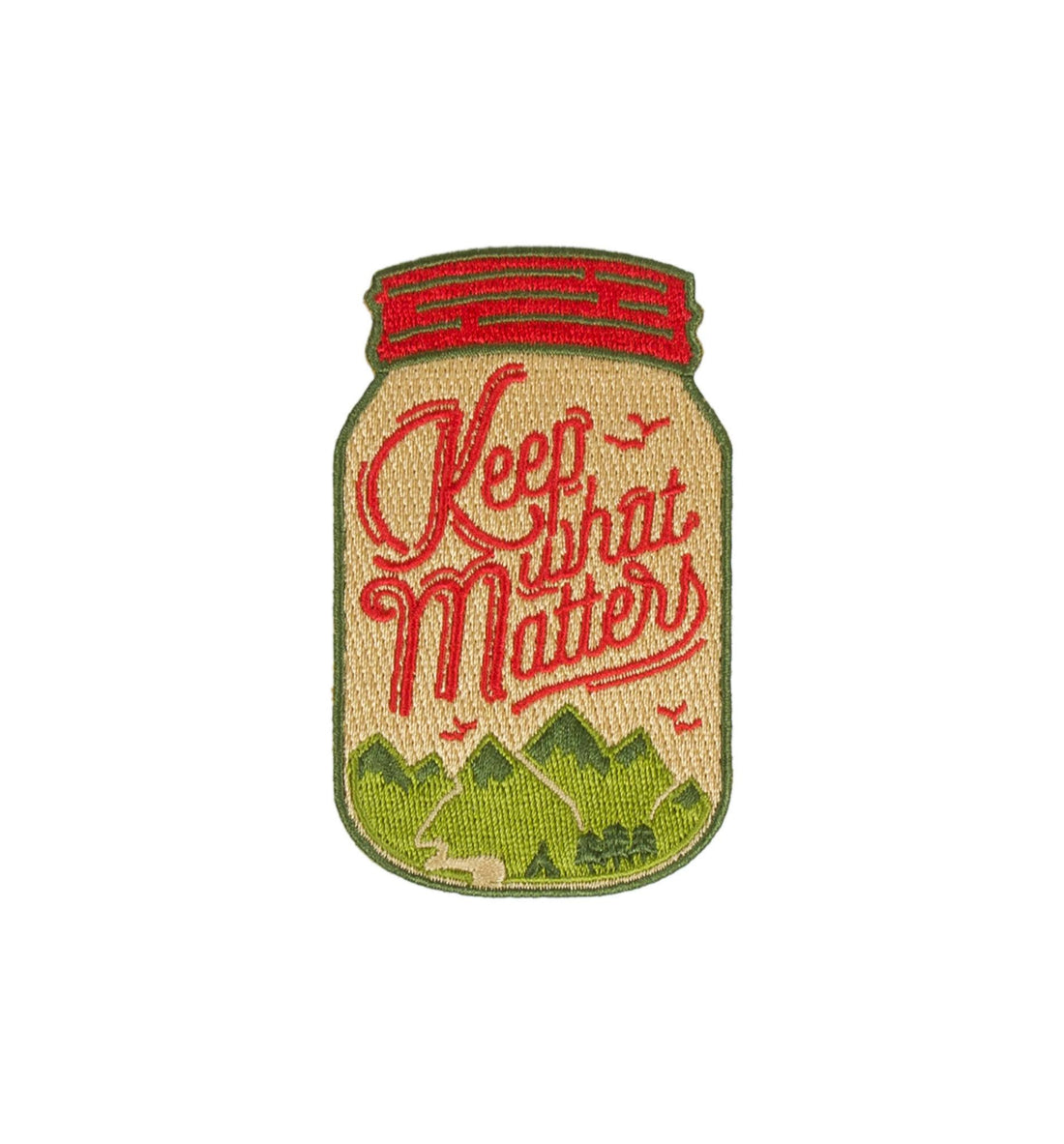 Asilda - Keep What Mattters Patch - Accessories: Patches - Iron and Resin