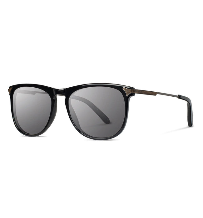 Shwood Keller, Black - Grey - Accessories: Eyewear - Iron and Resin