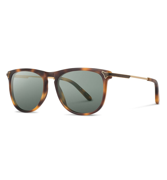 Shwood Keller, Matte Brindle - G15 - Accessories: Eyewear - Iron and Resin
