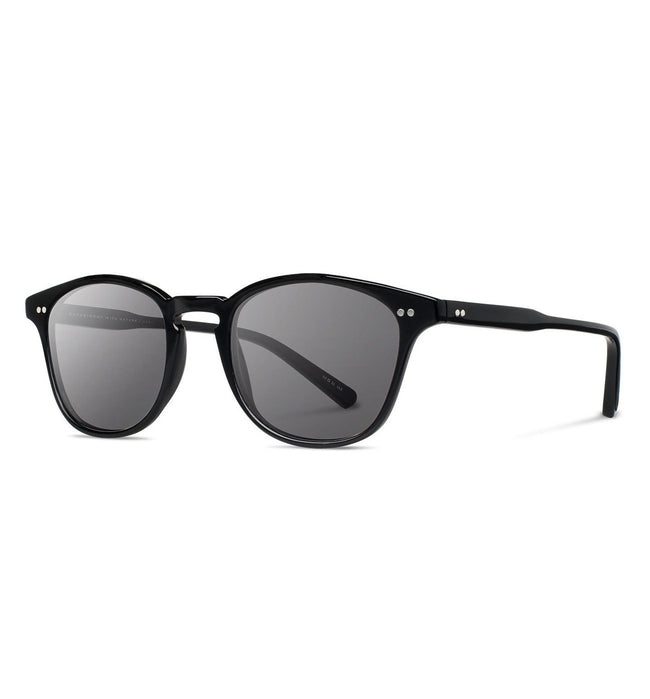 Shwood Kennedy, Black - Grey - Accessories: Eyewear - Iron and Resin
