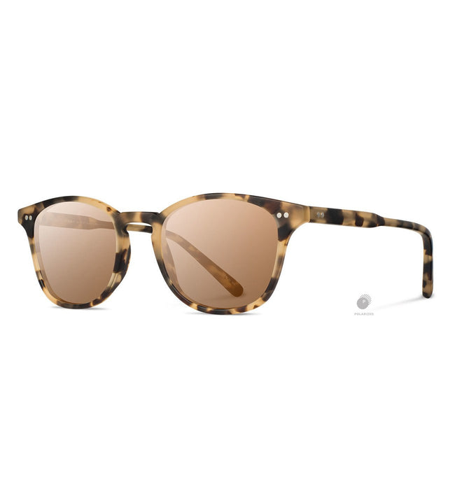 Shwood Kennedy, Matte Havana - Brown Polarized - Accessories: Eyewear - Iron and Resin