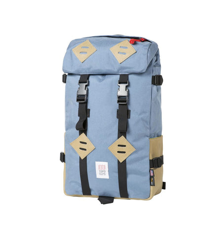 Topo Designs Klettersack - Storm/Khaki Leather - Bags/Luggage - Iron and Resin
