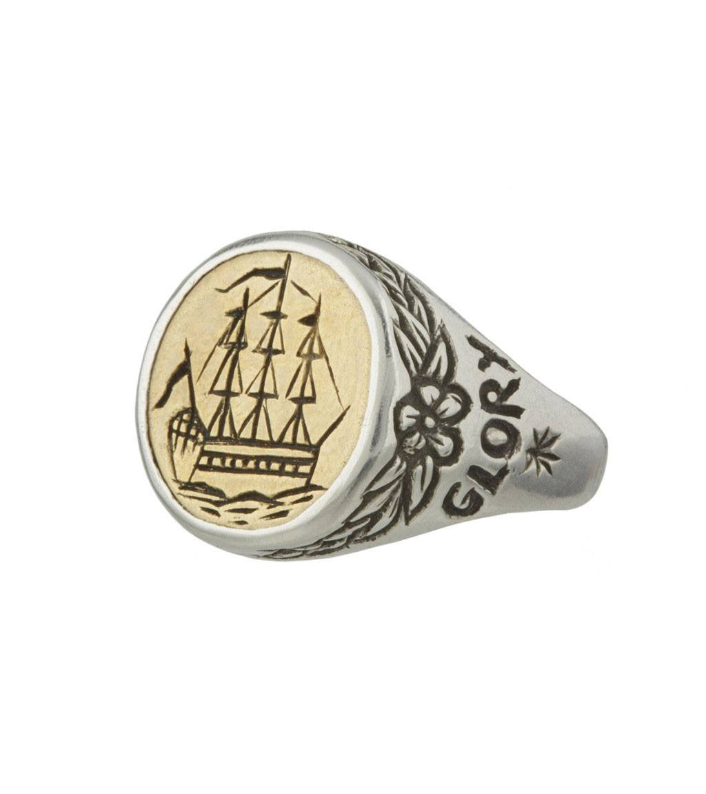 LHN Albion Ring - Jewelry: Men's - Iron and Resin