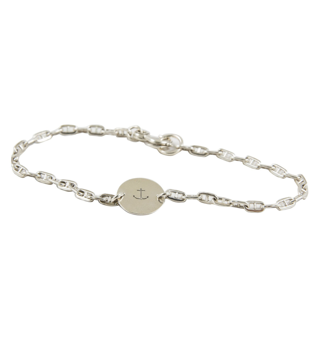 LHN Anchor Bracelet - Jewelry: Men's - Iron and Resin