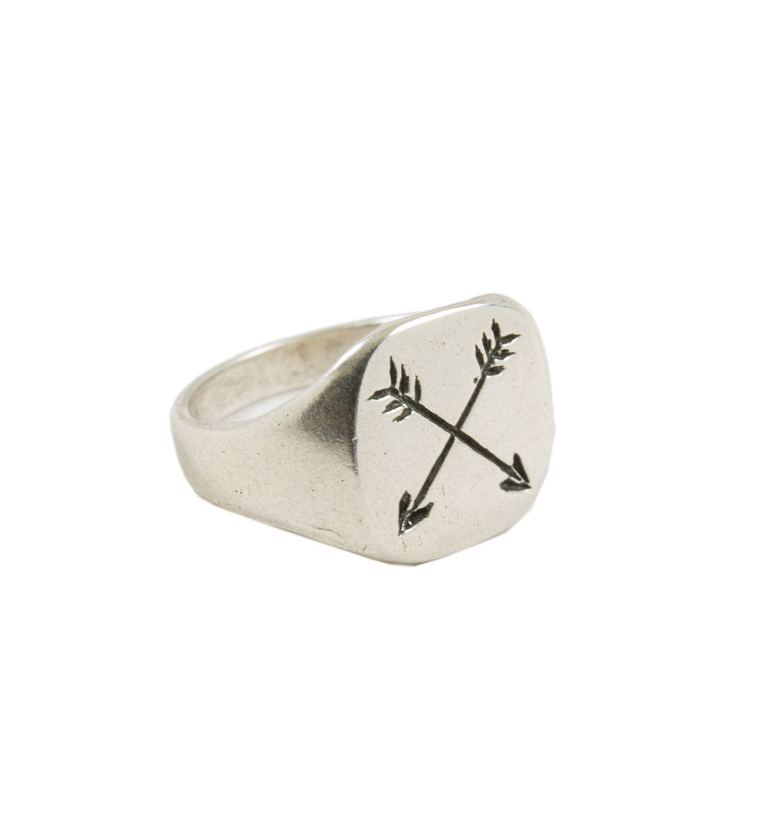 LHN Arrow Ring - Jewelry: Men's - Iron and Resin