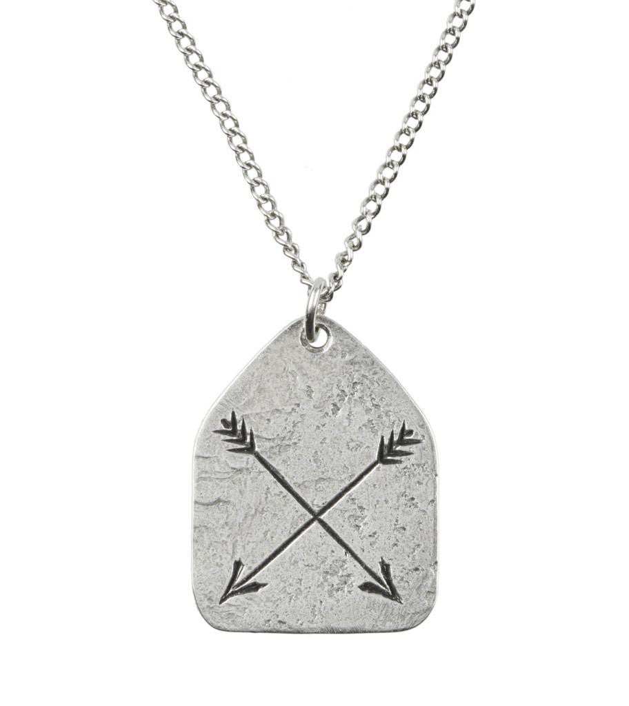 LHN Arrow Necklace - Jewelry: Men's - Iron and Resin