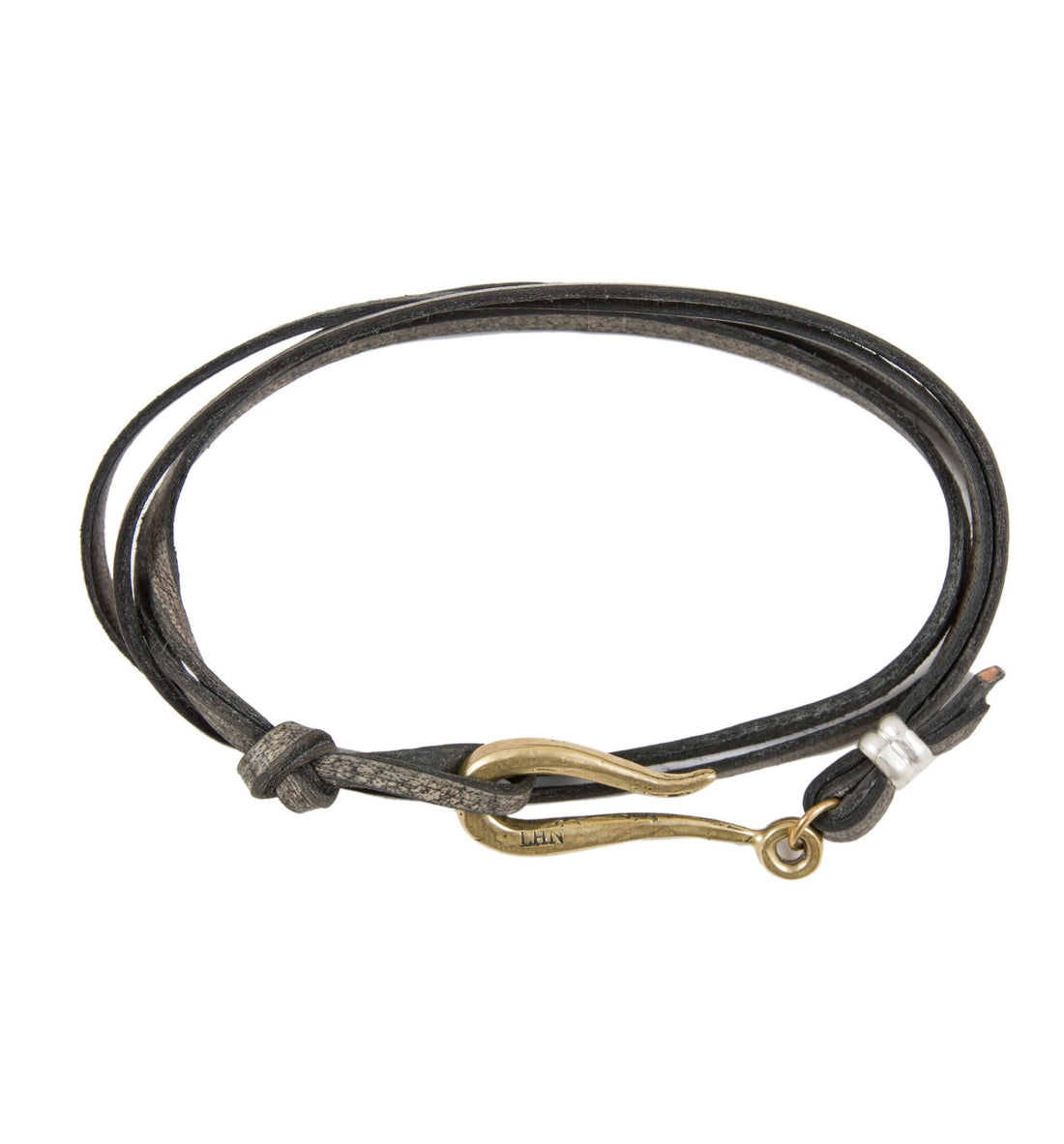 LHN Small Hook Bracelet - Jewelry: Men's - Iron and Resin