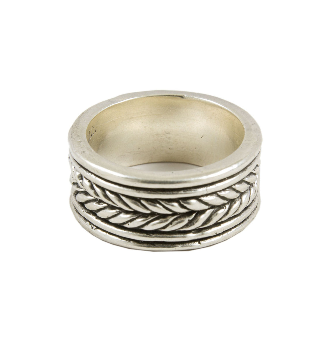 LHN Rope Band Ring - Jewelry: Men's - Iron and Resin