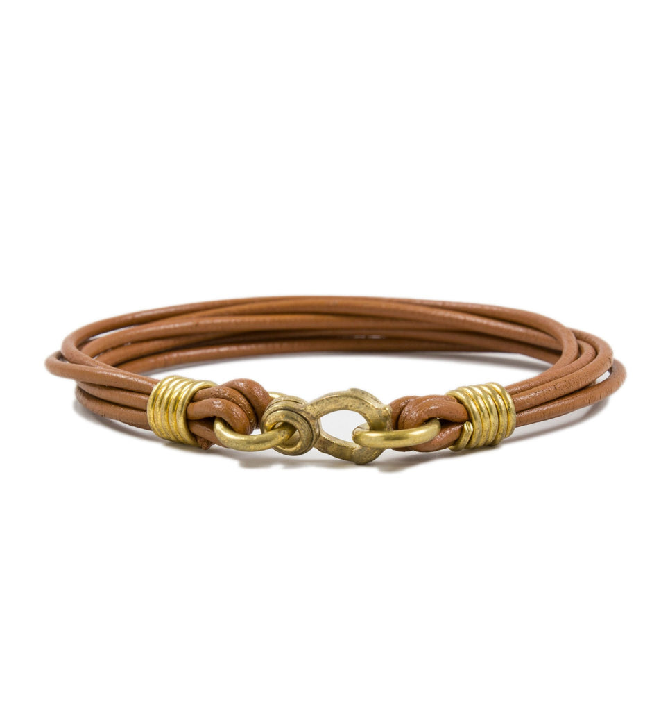LHN Leather Strand Bracelet