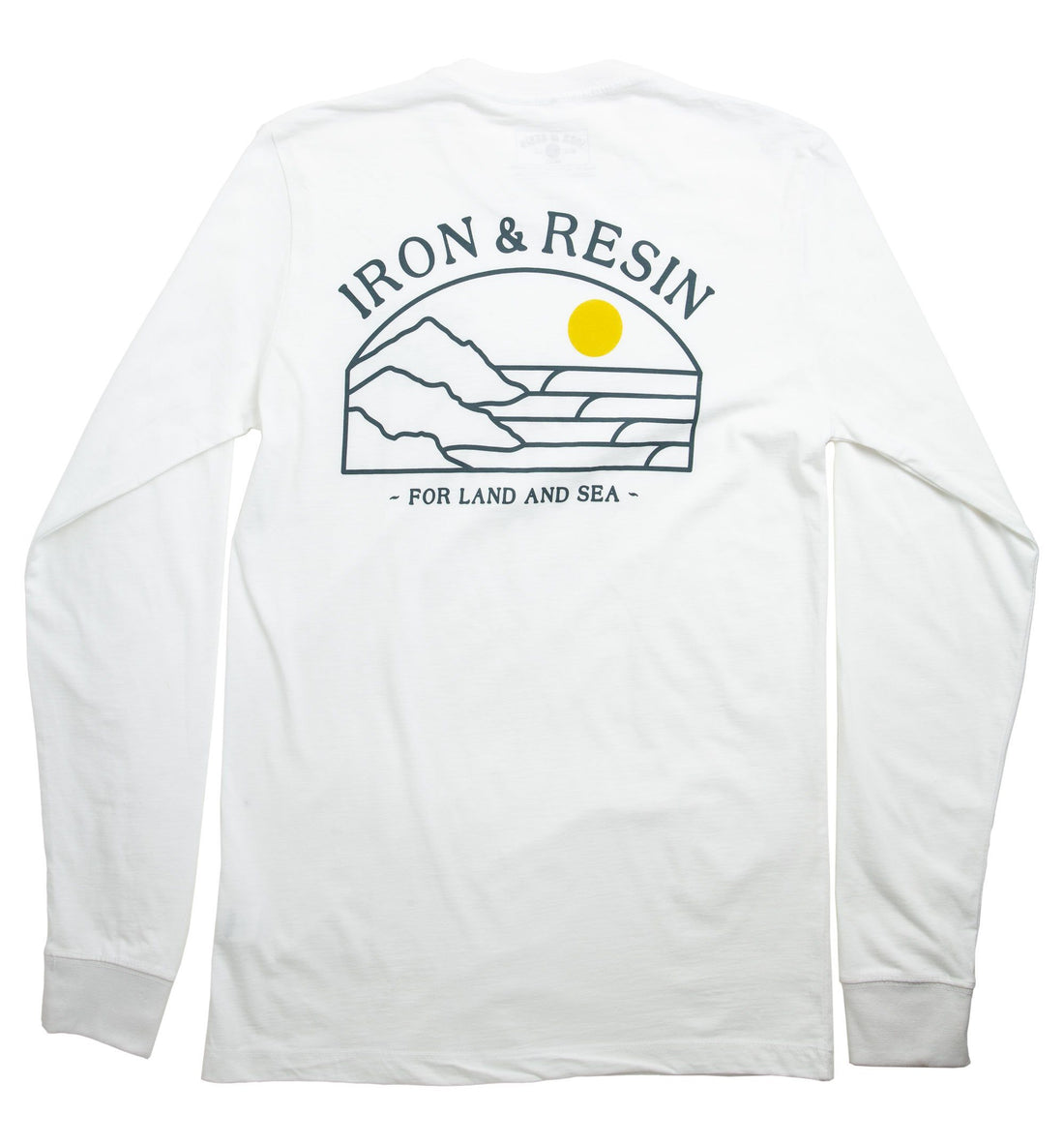 Land And Sea L/S Tee - Tops - Iron and Resin