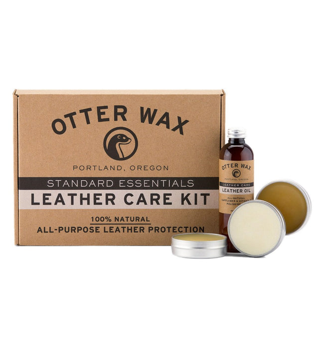 Otter Wax Leather Care Kit - Accessories - Iron and Resin