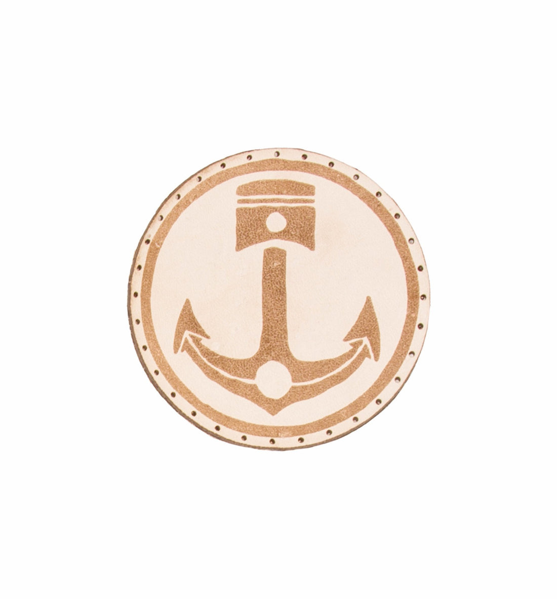 INR Anchor Piston Patch - Accessories: Patches - Iron and Resin