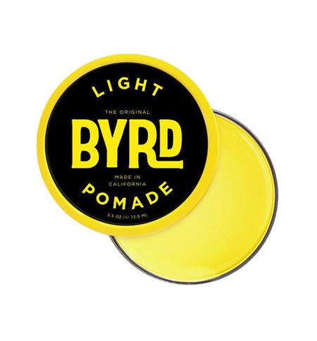 Byrd Light Pomade 3oz - Grooming - Iron and Resin