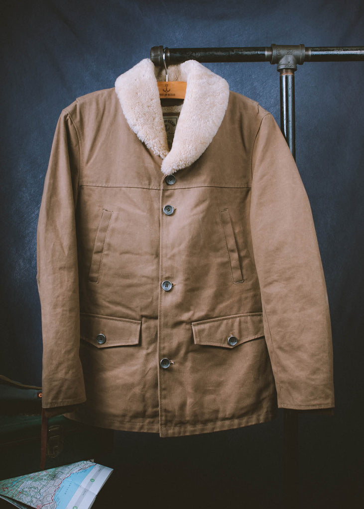 Iron & Resin Lincoln Jacket Field Tan Product Image