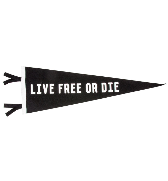 Oxford Pennant - Live Free - Houseware - Iron and Resin