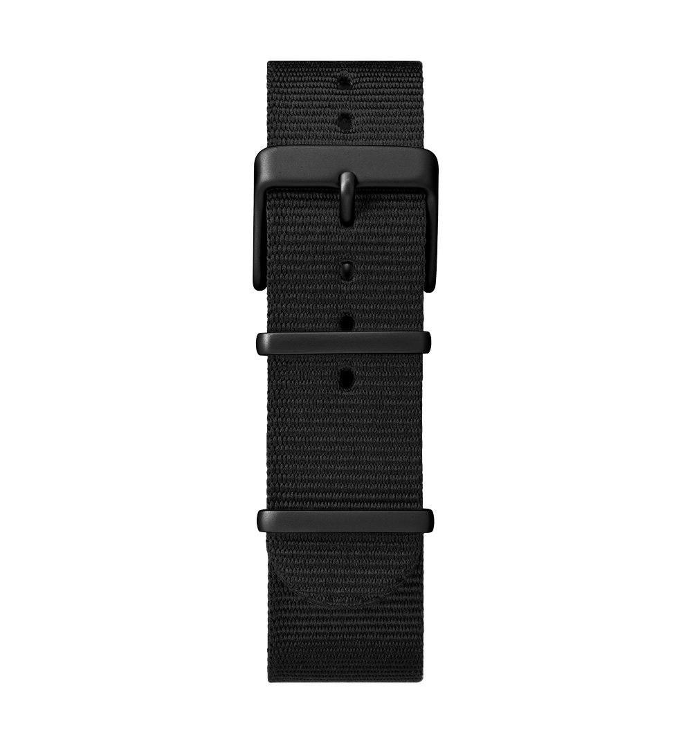 Timex MK1 Aluminum - Black anodized case, black dial, black fabric strap - Watches - Iron and Resin