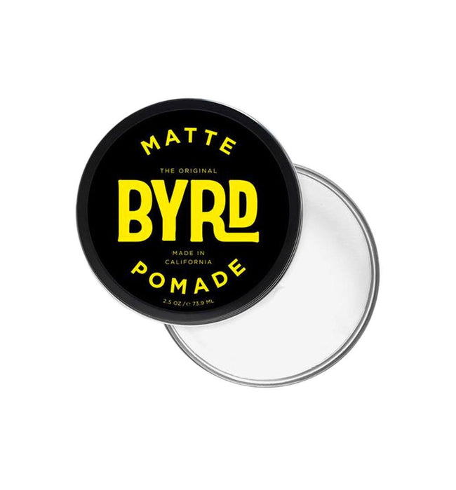 Byrd Matte Pomade 3oz - Grooming: Hair - Iron and Resin