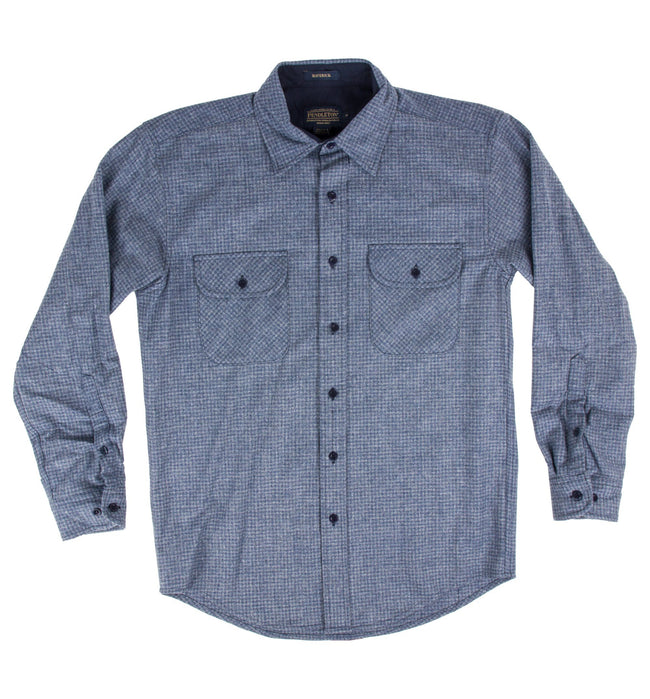 Pendleton Fitted Merino Maverick - Tops - Iron and Resin