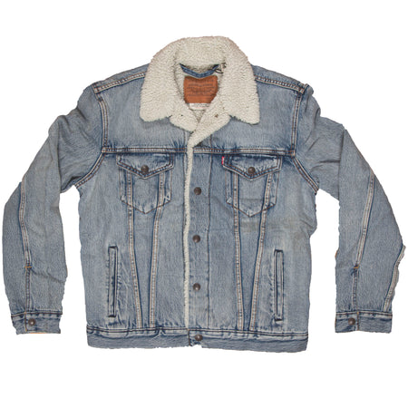 Levi's Type III Men's Sherpa Trucker Jacket - Outerwear - Iron and Resin
