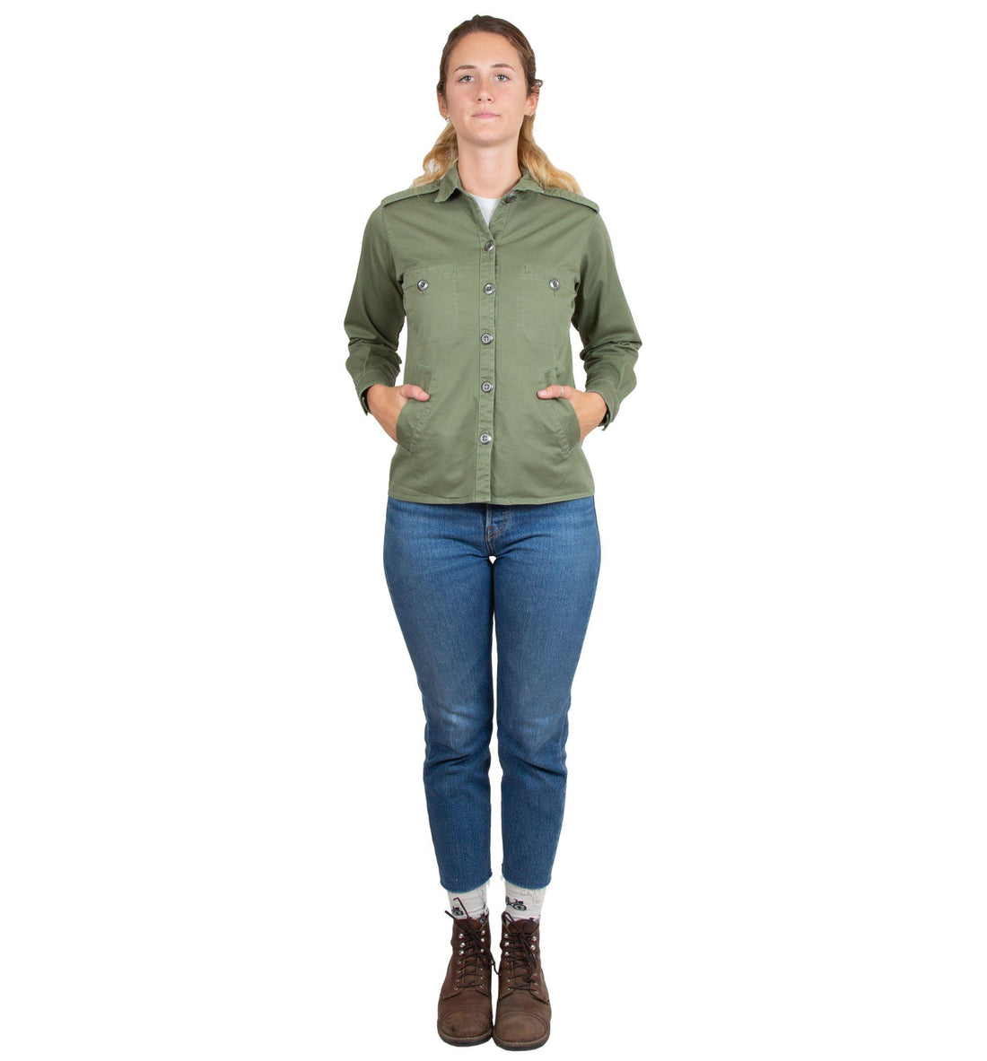 Women's Deck Shirt Jacket - Tops - Iron and Resin