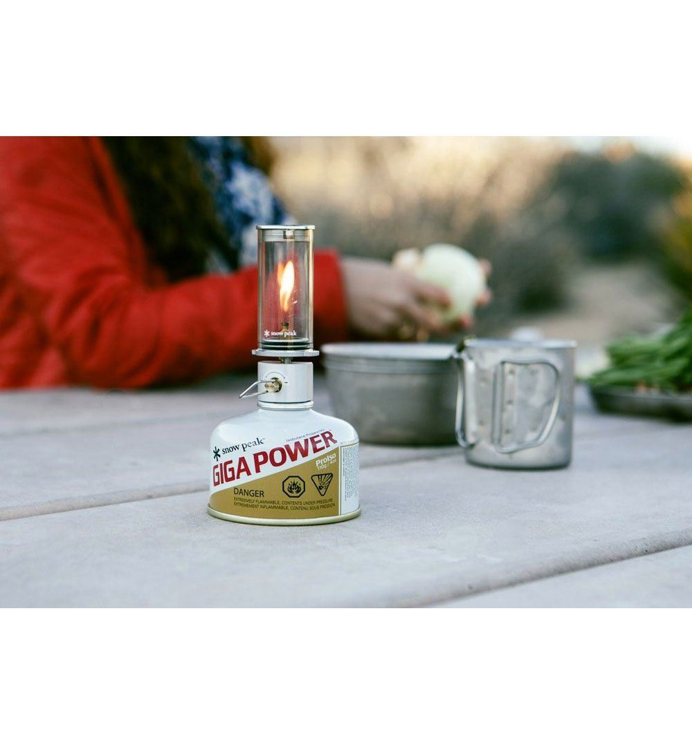 Snow Peak Mini Flame - Outdoor Living/Travel - Iron and Resin