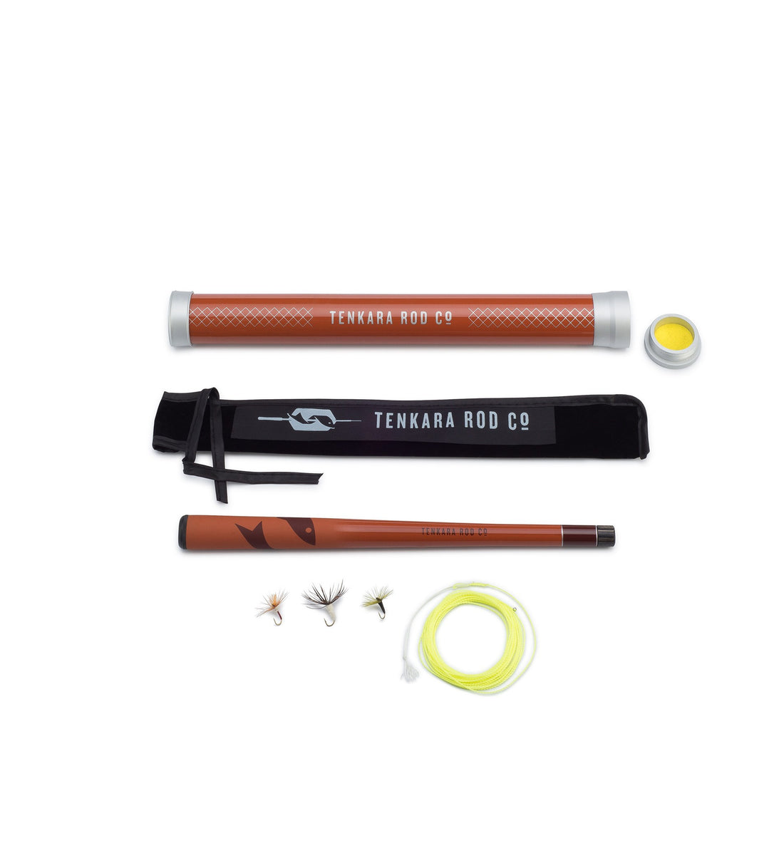 Tenkara Mini Sawtooth Rod - Camping - Iron and Resin