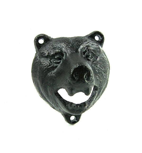 Bear Bottle Opener - Accessories: Bottle Opener - Iron and Resin