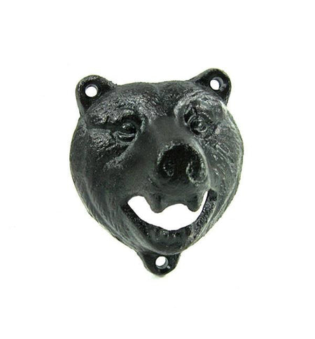 Bear Bottle Opener - Kitchen/Bar - Iron and Resin
