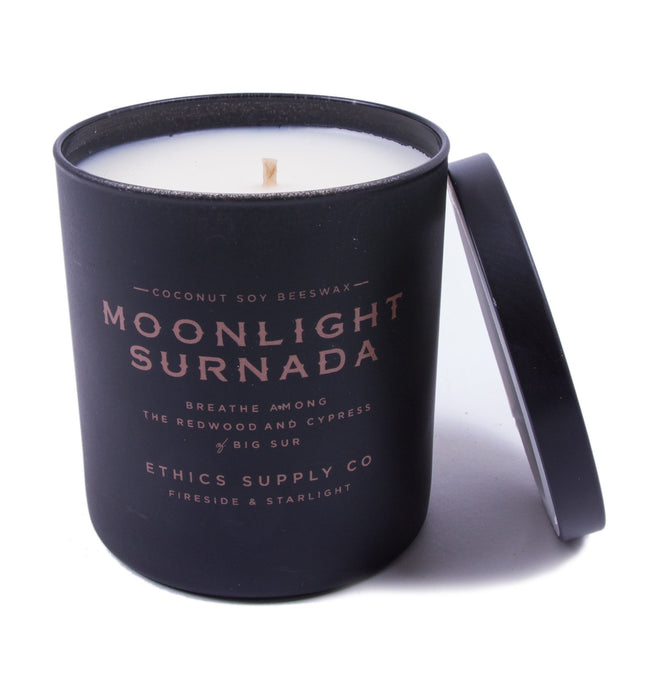 Fireside & Starlight - Moonlight Surnada Candle - Houseware: Candles - Iron and Resin